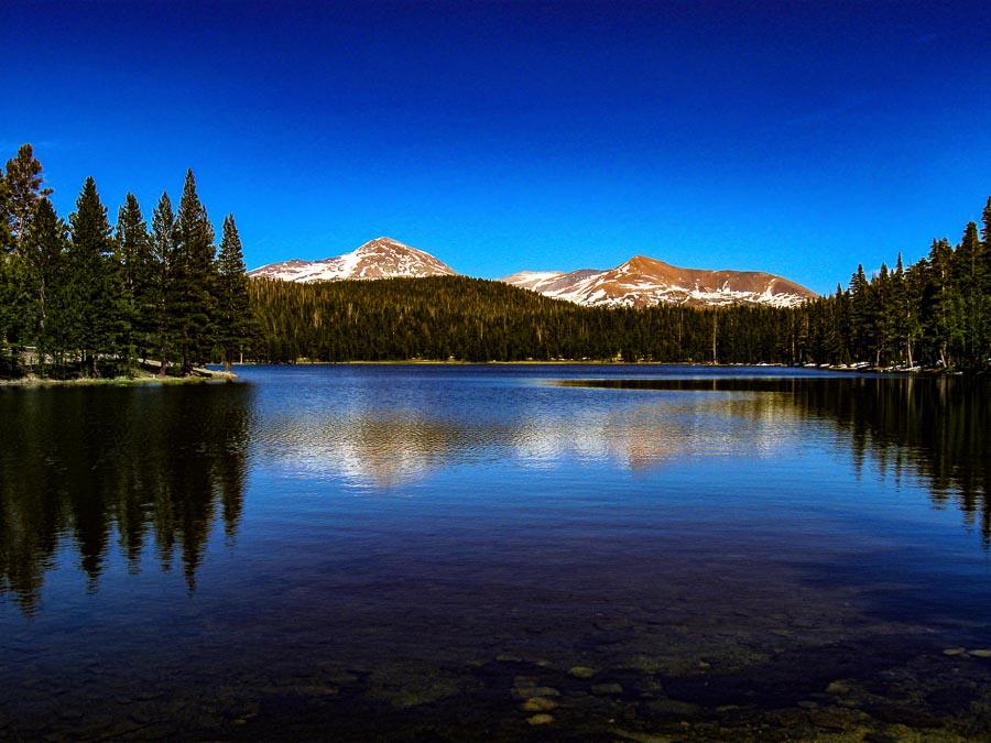A view of Dog Lake