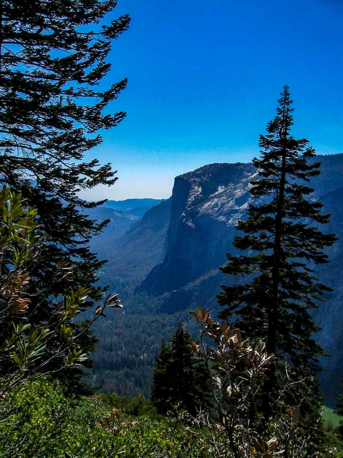 El Capitan from the Four Mile Trail