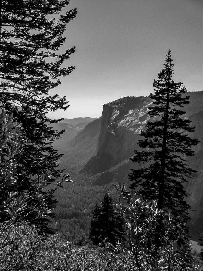 El Capitan in Black and White