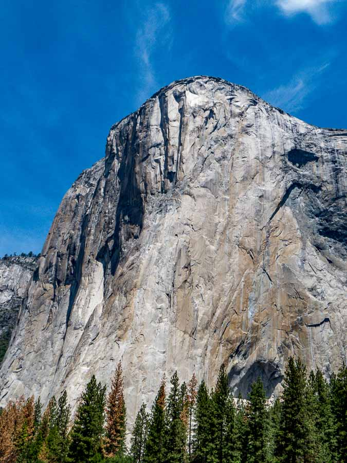 Midline view of El Capitan