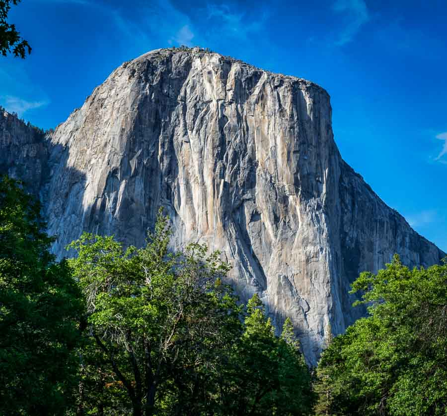 El Capitan as seen from the west