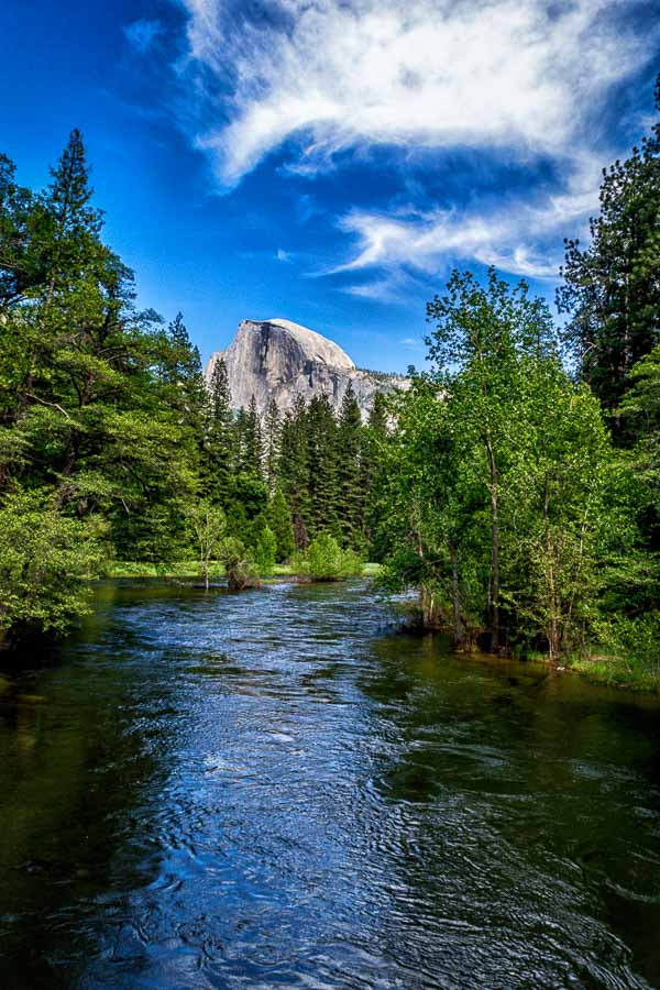 Half Dome and Merced River