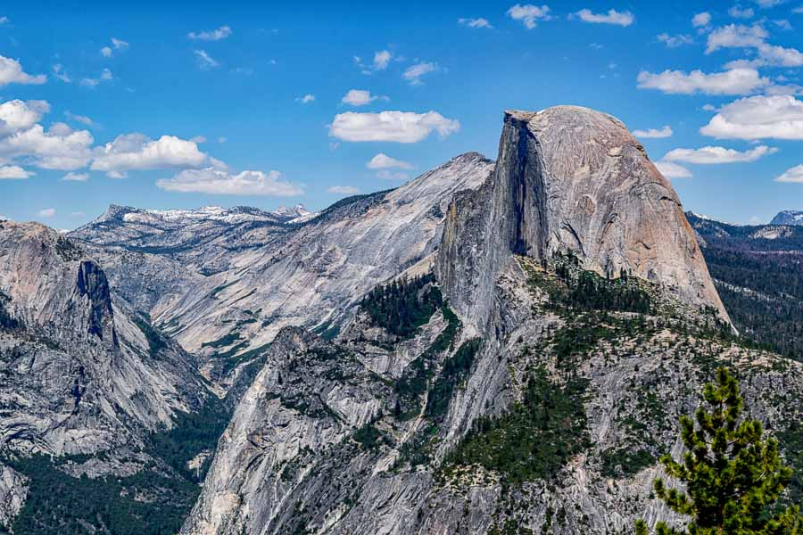 Half Dome viewed from Glacier Point