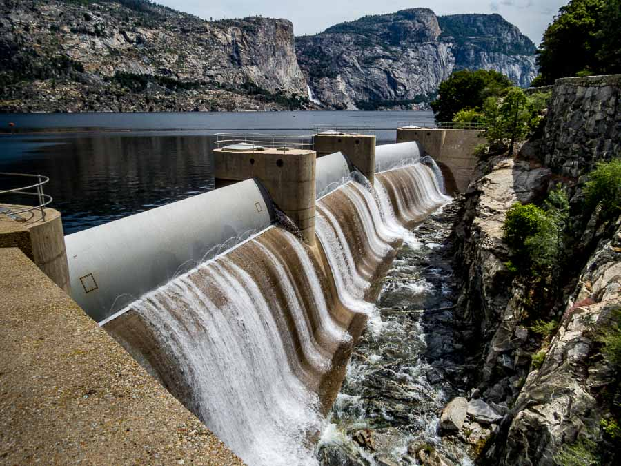 Hetch Hetchy Reservoir Structure
