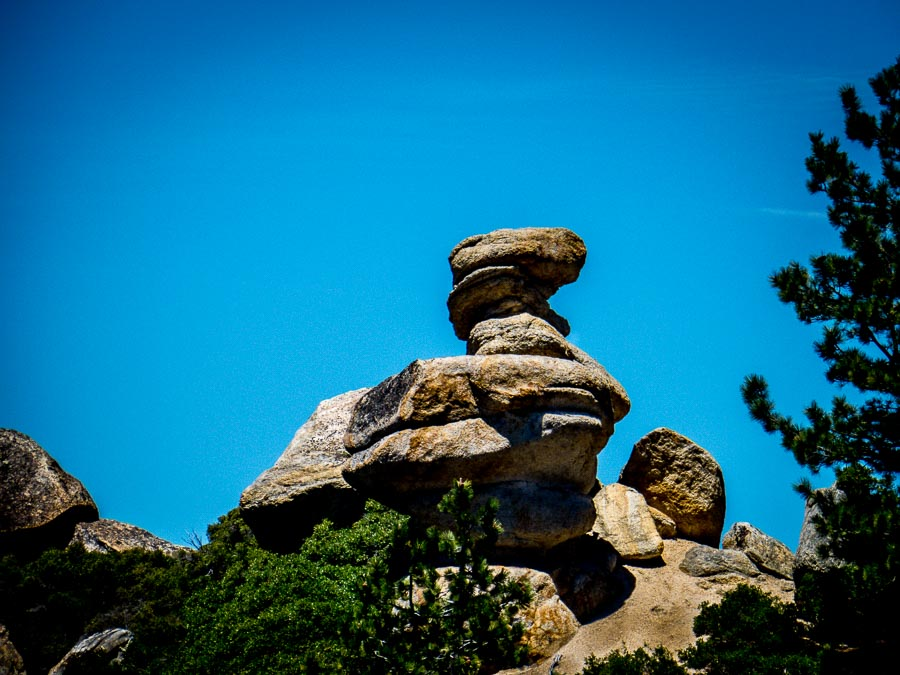 Duck rock formation