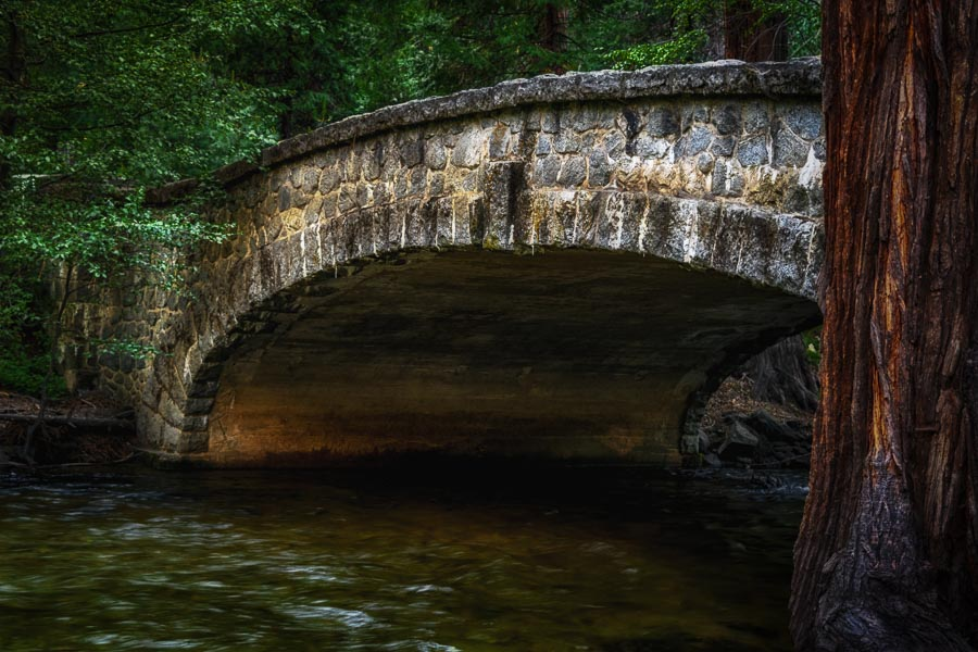 Old and beautiful stone bridge