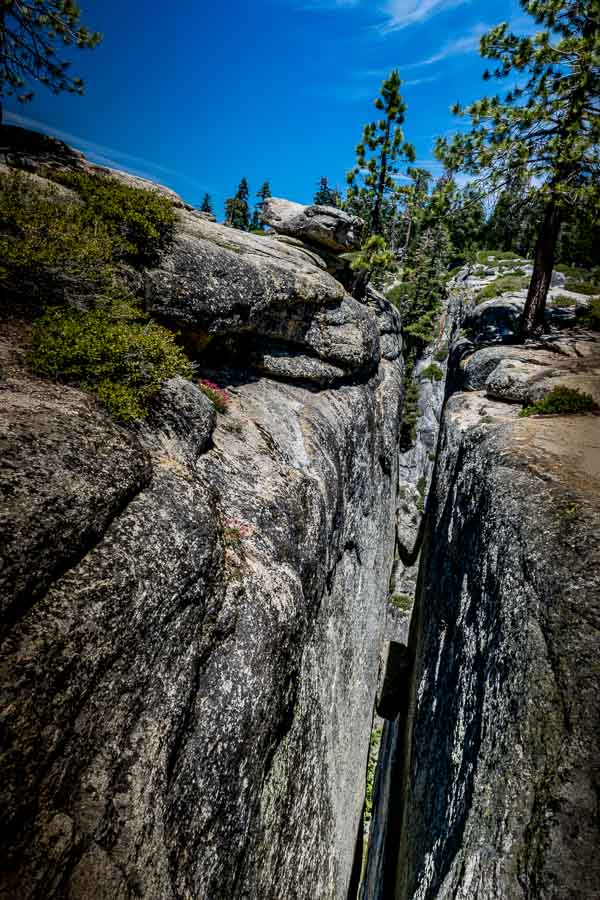 Taft Point Fissures