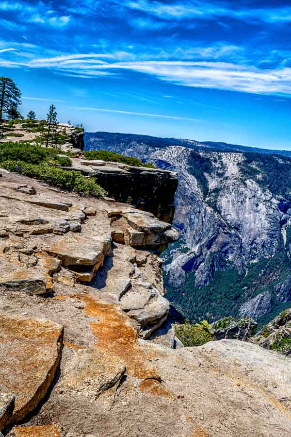 At the edge of Taft Point
