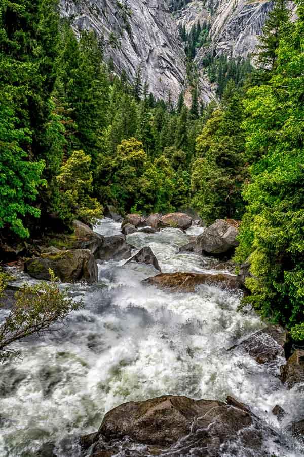 Vernal Falls water torrente