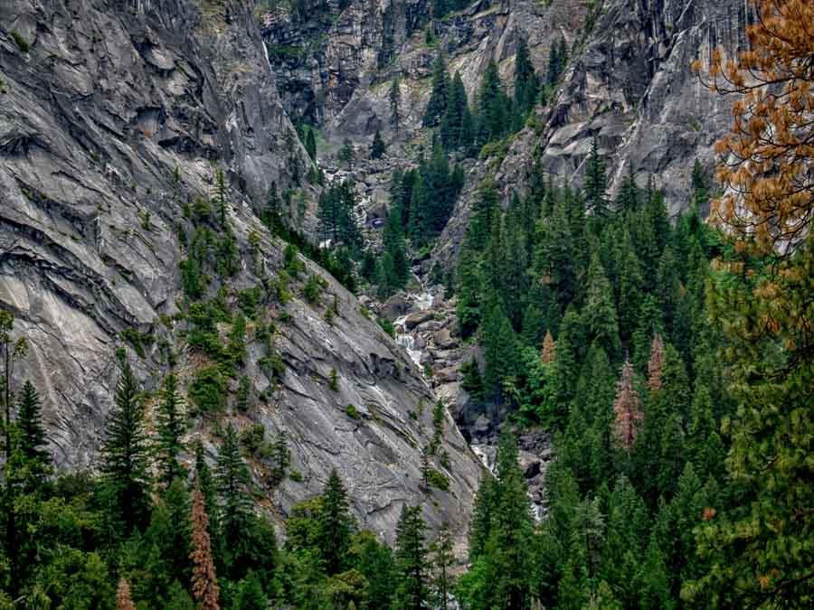 Vernal Fall water source