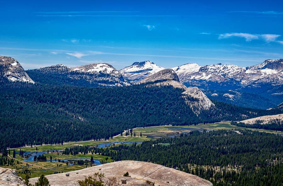 Tuolumne Meadows from Lembert Dome)