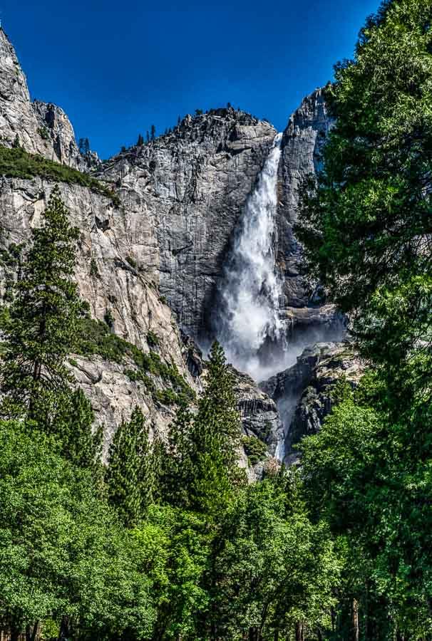 Powerful Yosemite Falls