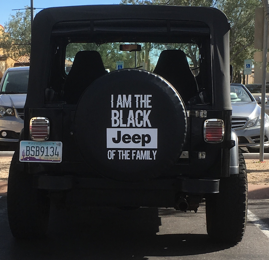 Black Jeep of the Family