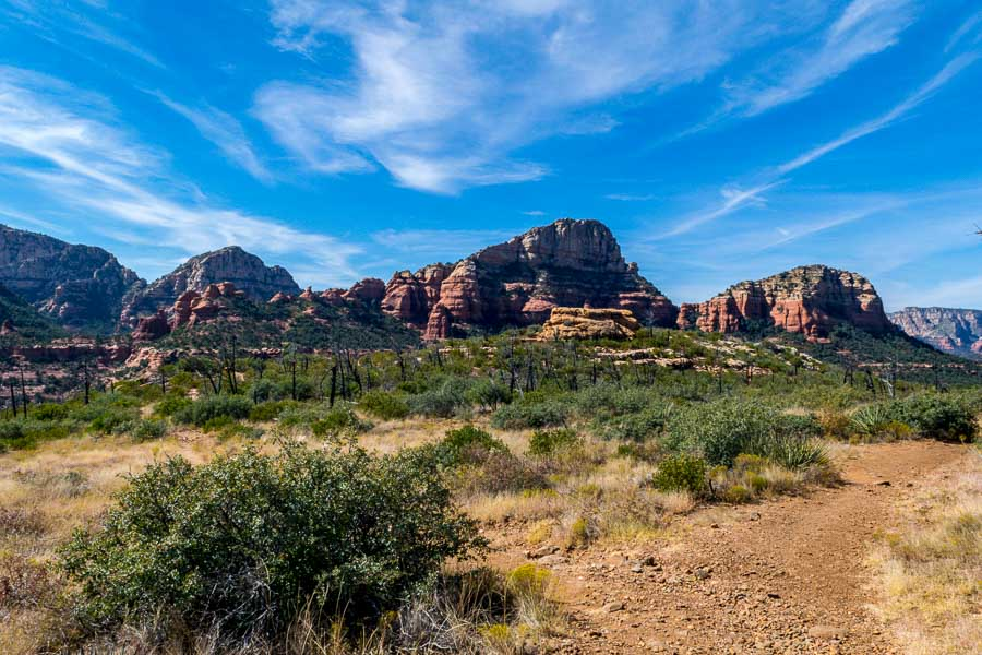along the Brins Mesa Trail - Sedona, AZ