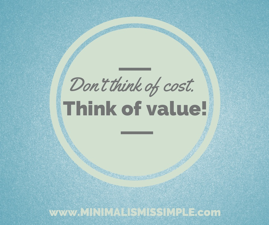 Don't think of cost. Think of value.- Hyacil Han