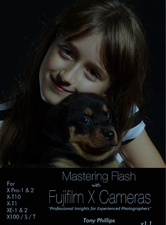Mastering Flash with Fujifilm X Cameras- by Tony Phillips
