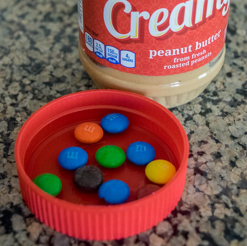 pb jar lid with mms