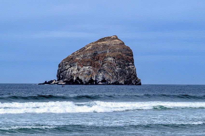 Haystack Rock, Pacific City - a closer view