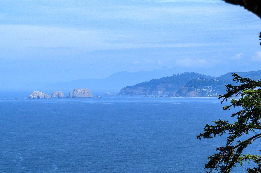 Coastline vista