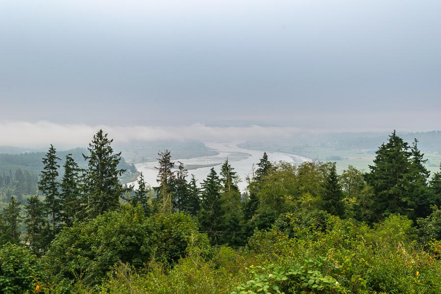 Another view from the Astoria Column's parking area