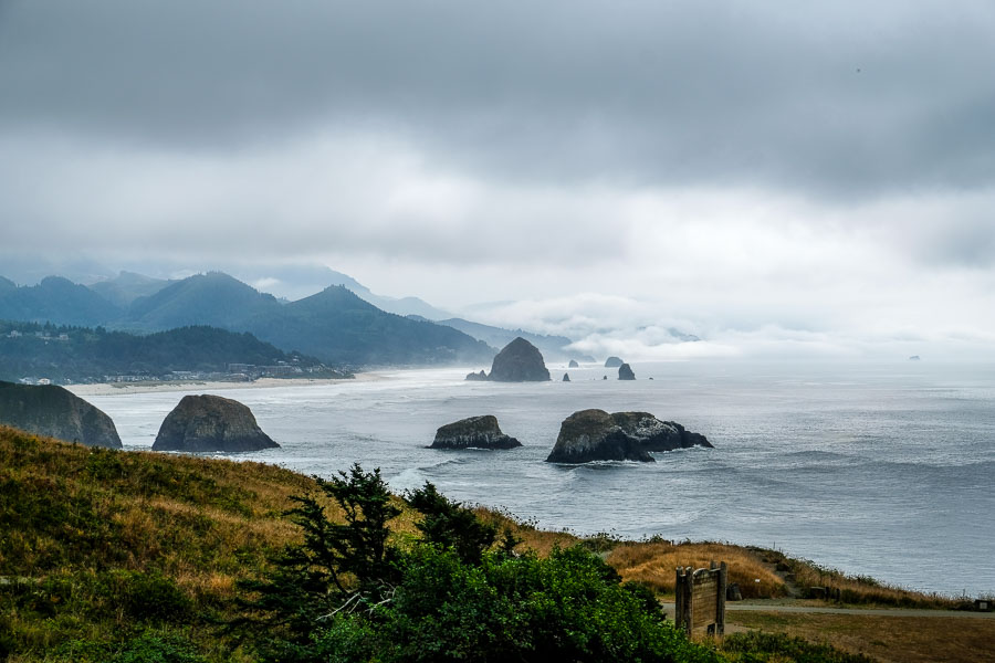 Parting shots of Cannon Beach and the Haystack