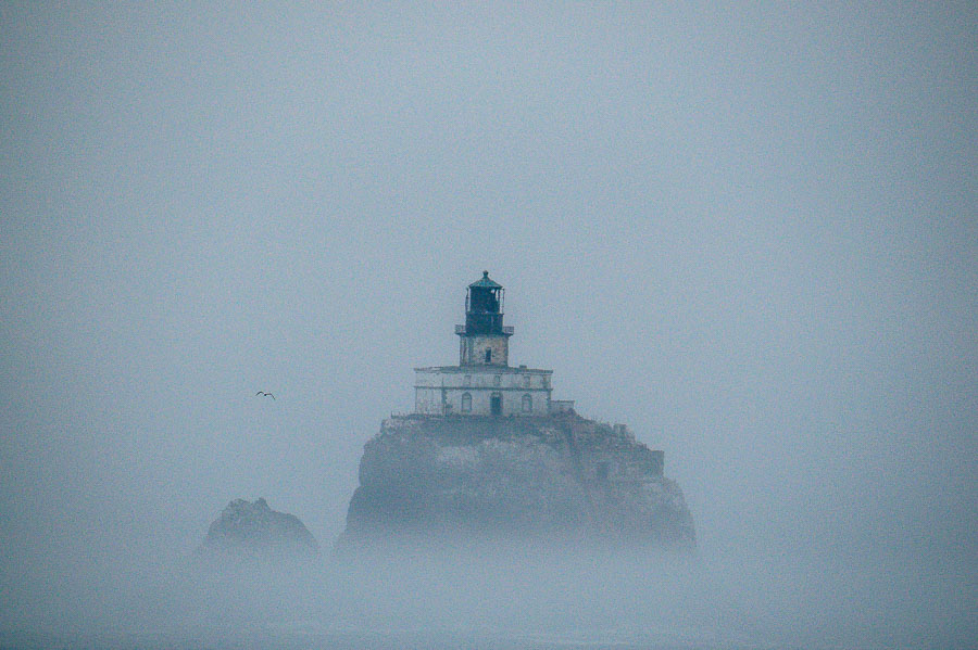 Tillamook Rock Light - the best shot I could manage