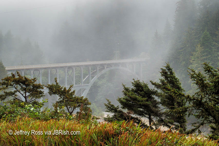 The Cape Creek Bridge