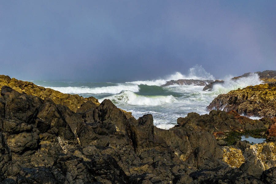 The power of the Pacific at Cape Perpetua