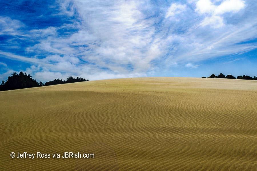 Pristine sand dunes