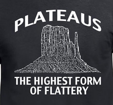 Plateaus - The Highest Form of Flattery!