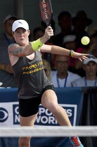Sarah Ansboury Pickleball Champion