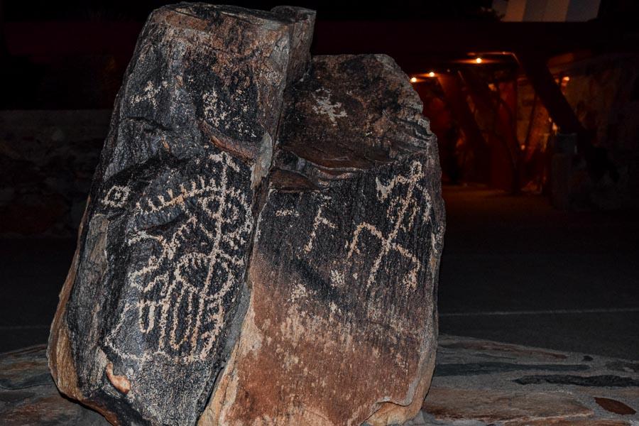 Petroglyph located at Taliesin