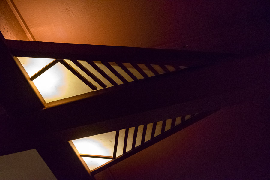 Another geometric light fixture