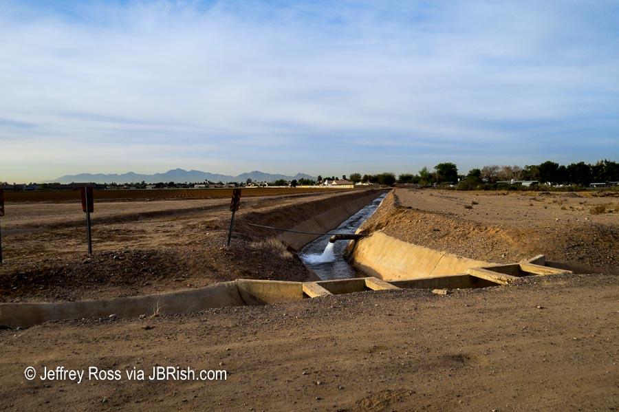 water being reclaimed