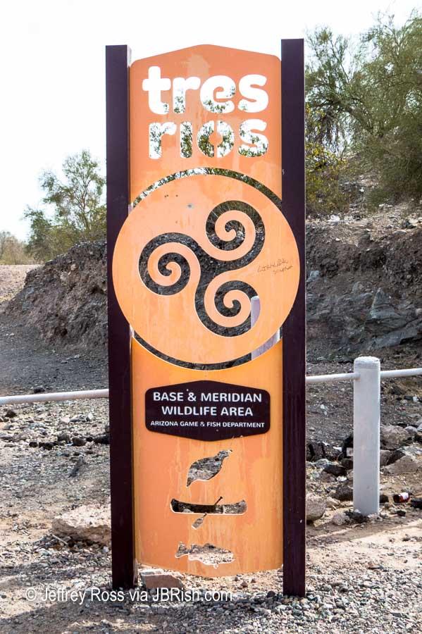 Tres Rios Sign