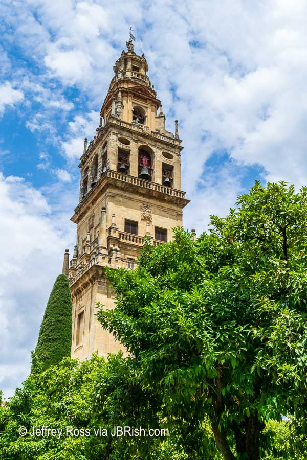 he Bell tower of the Mosque of Cordoba