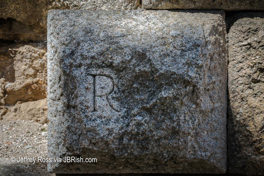 Restoration stone, not original