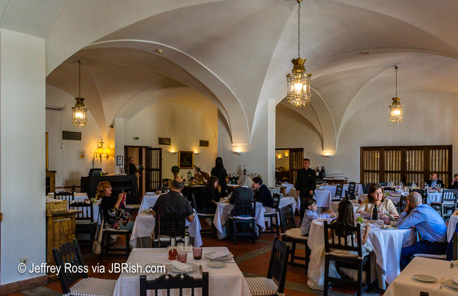 Parador de Merida - a fine lunch or dinner stop