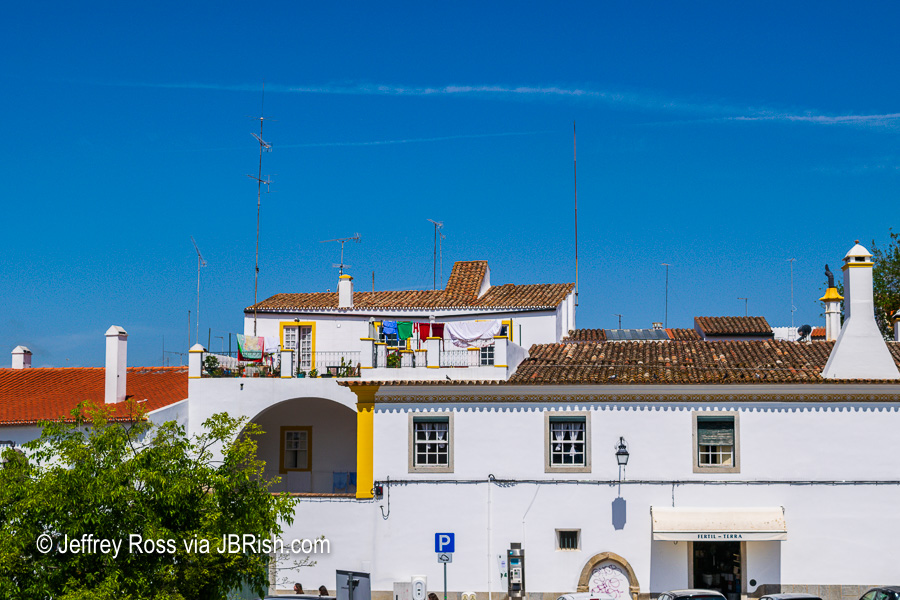 The city of Evora