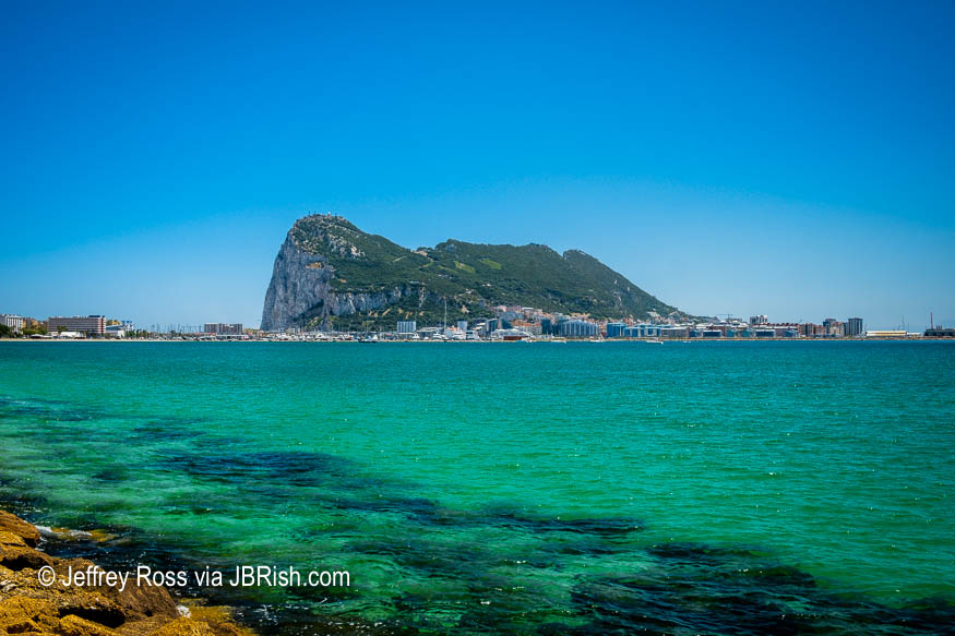 Rock of Gibraltar - First View