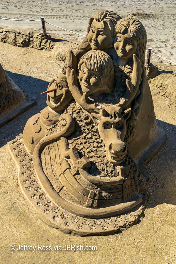 Sand Sculptor of Children