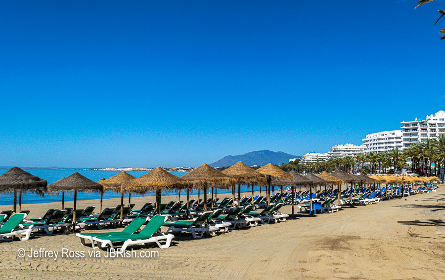 Along Marbella's Beachfront