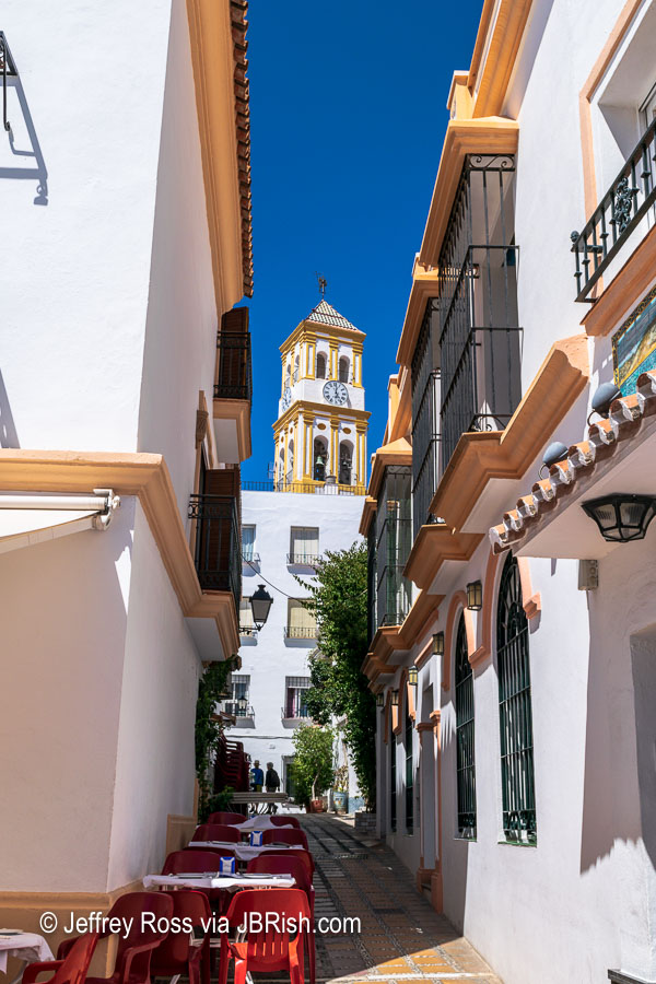 A side street in Marbella