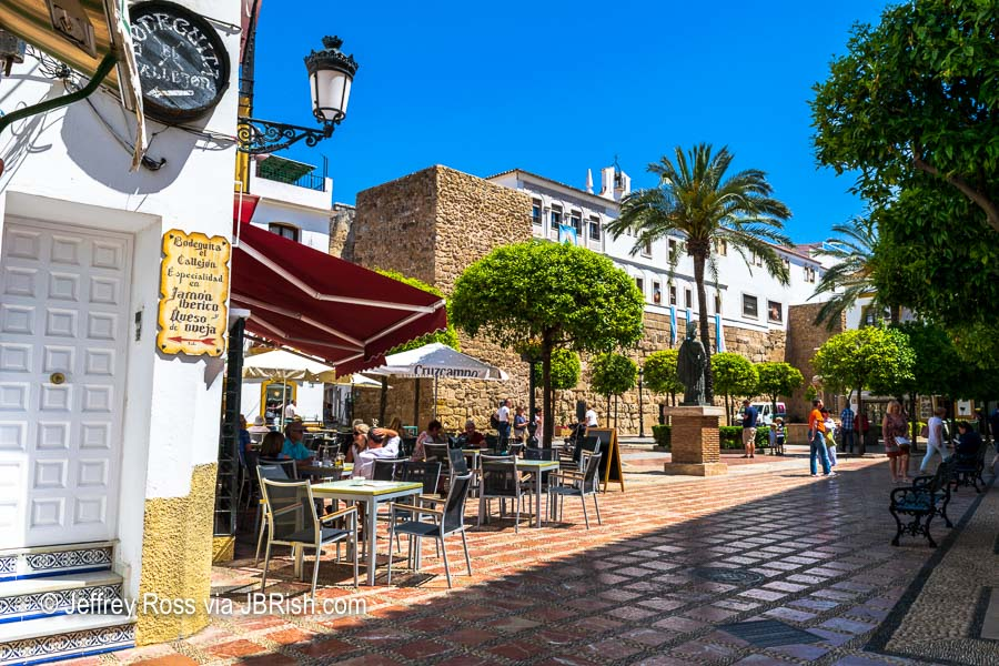 A Town Square of Marbella