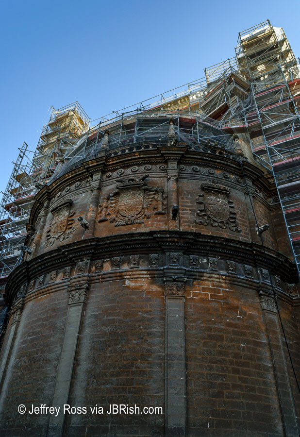 Renovation work at the Cathedral