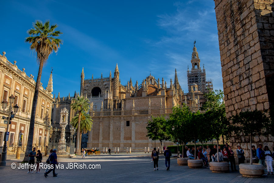 Exterior of the Cathedral of Seville