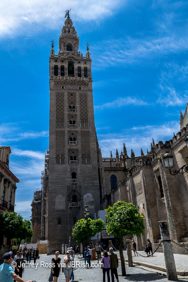 The famed Giralda, Bell Tower