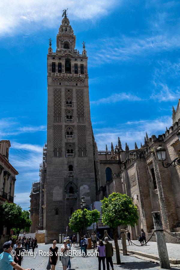 The famed Giralda, Bell Tower