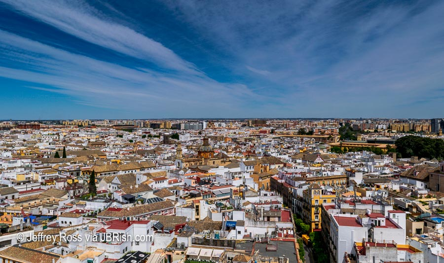 Vista of Seville from the Giralda