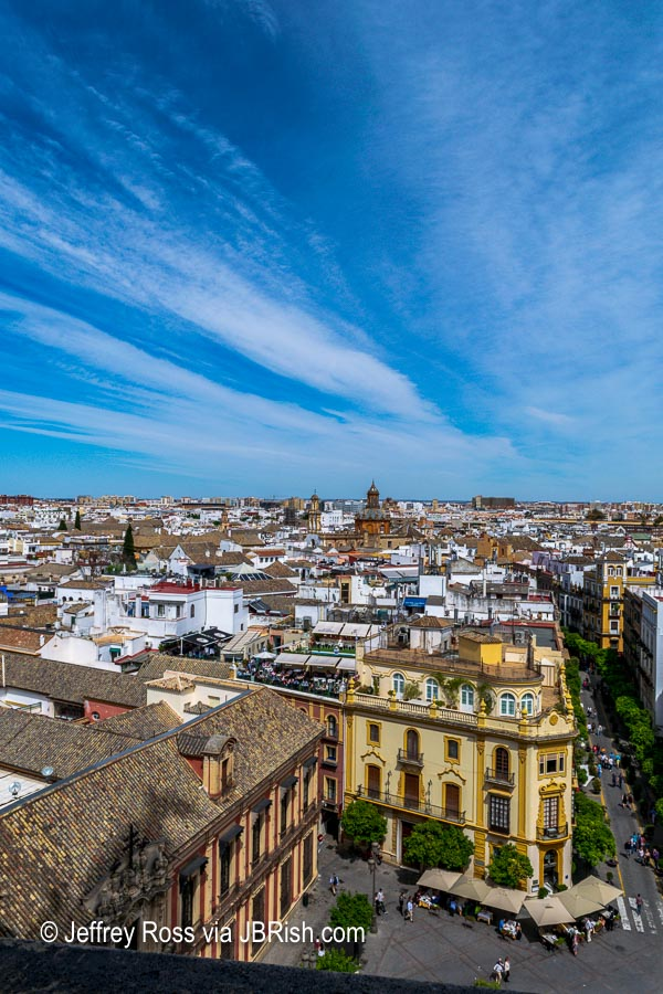 Vista of Seville from the Giralda